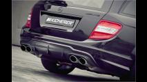 Power-Benz mit Schuss