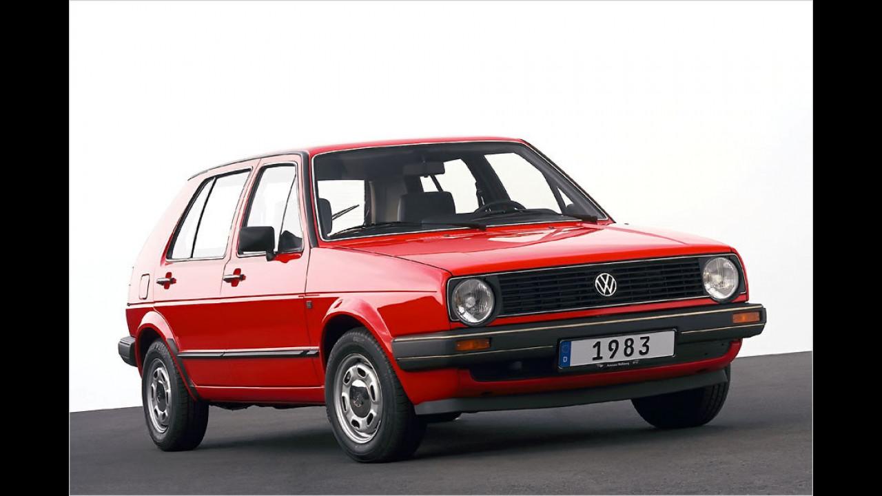 30 Jahre VW Golf II
