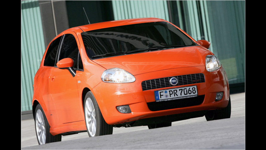 Fiat senkt beim Grande Punto Sport den CO2-Ausstoß