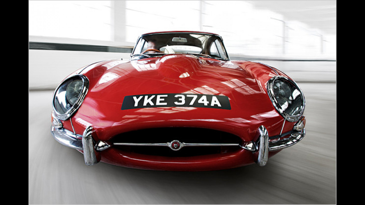 Jaguar E-Type (Jerry Cotton; Austin Powers)