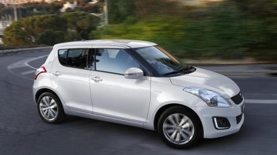 2014 Suzuki Swift facelift leaks to the web