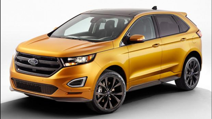 Ford Edge Sport, mai così potente