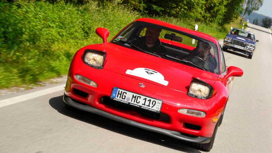 We Drove A Pristine FD RX-7 From Mazda's European Collection