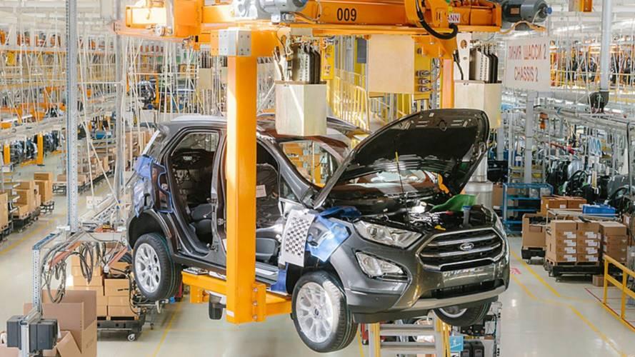 Projeto brasileiro, Ford EcoSport começa a ser produzido na Rússia