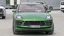 Makyajlı Porsche Macan Turbo casus fotoğraflar
