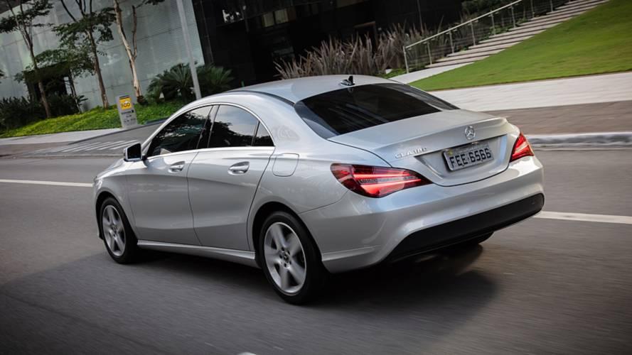 Sedãs de luxo em junho: Mercedes CLA quadruplica vendas com a nova versão 180