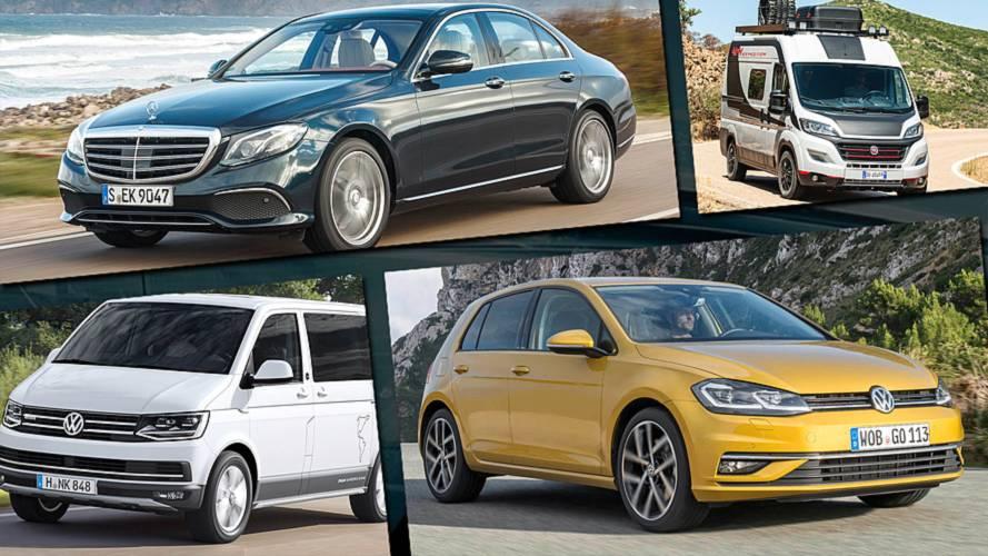 Die beliebtesten Autos jeder Klasse im ersten Halbjahr 2018