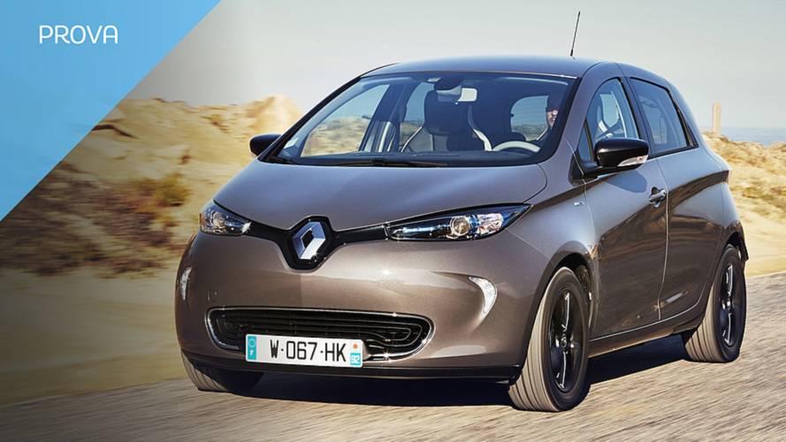 Renault Zoe MY2018, provata l'elettrica da 300 km di autonomia