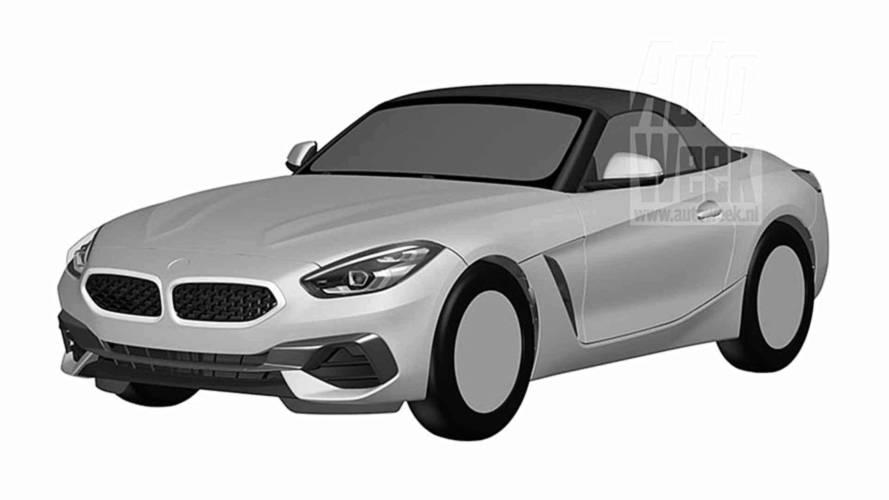 BMW Z4 2018: filtradas las imágenes de la oficina de patentes