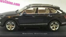 2016 Bentley Bentayga official diecast model (not confirmed)