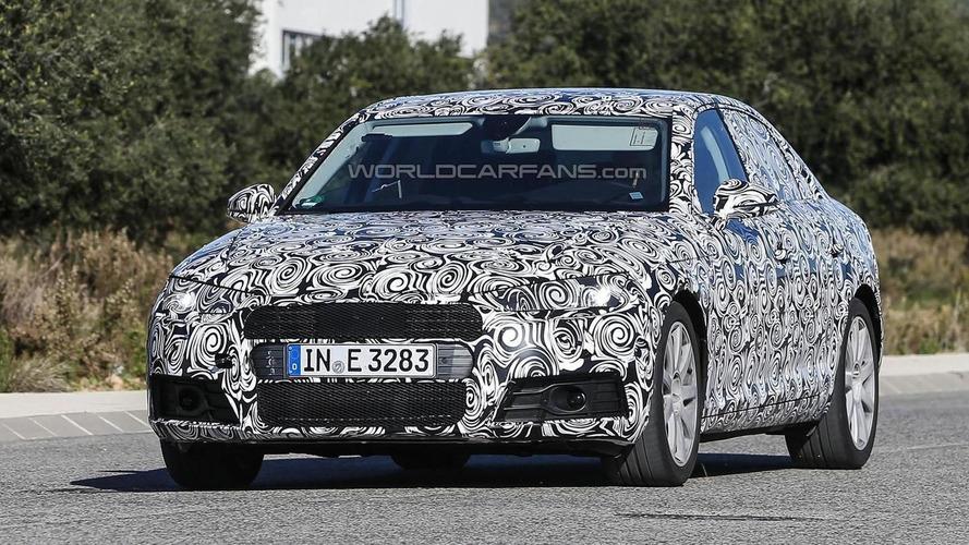 2016 Audi A4 hides its sharper design in latest spy shots