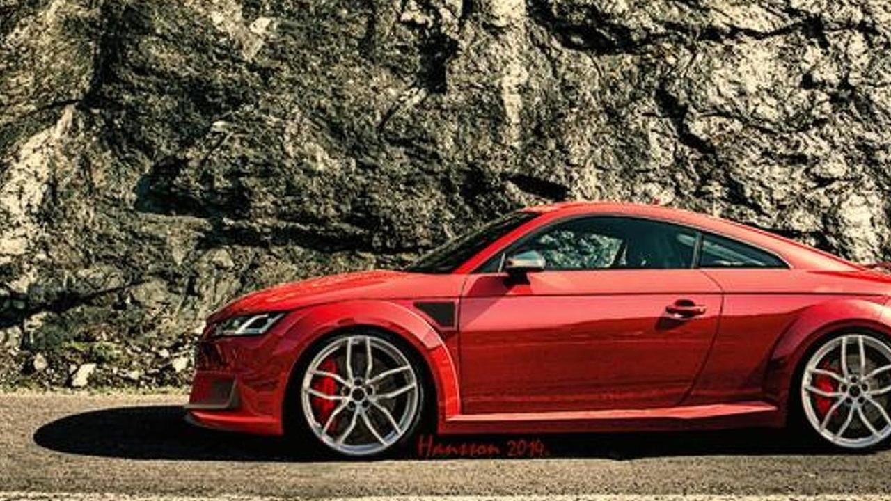 2015/2016 Audi TT RS render