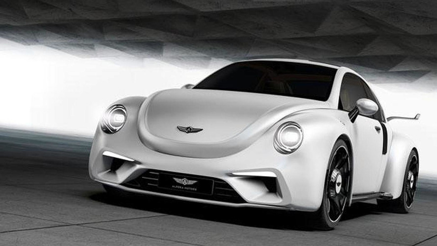 Hardcore Volkswagen Beetle imagined with 500+ bhp twin-turbo boxer engine