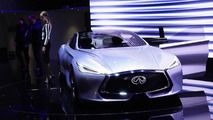 Infiniti Q80 Inspiration concept at 2014 Paris Motor Show