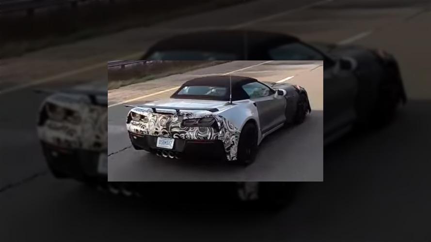 Chevrolet Corvette ZR1 Vidéo Espion