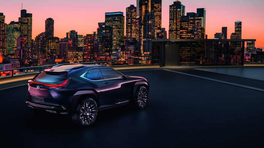 Lexus UX konsepti yenilikçi crossover tasarımıyla Paris'te