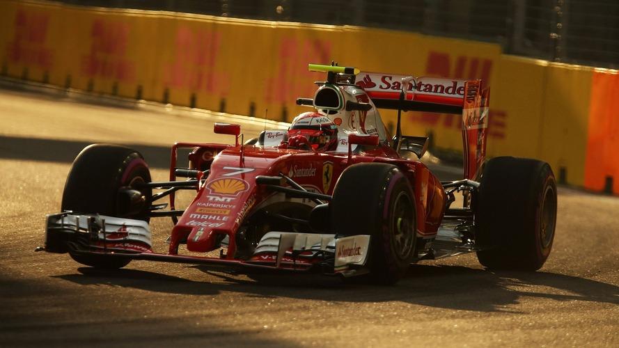 F1 Singapore Grand Prix - Qualifying Results