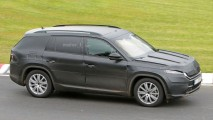 Skoda'nın yeni SUV'u Kodiaq test ediliyor