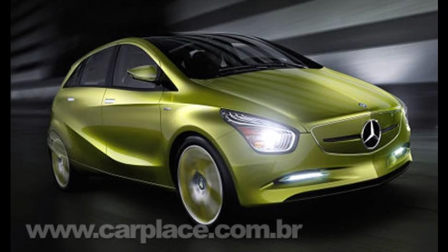 Elétricos e Híbridos - Mercedes mostrará linha Concept BlueZero em Detroit
