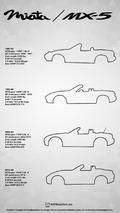Mazda MX-5 Miata poster