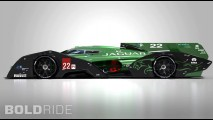 Jaguar XJR-19 LMP1 Concept by Mark Hostler
