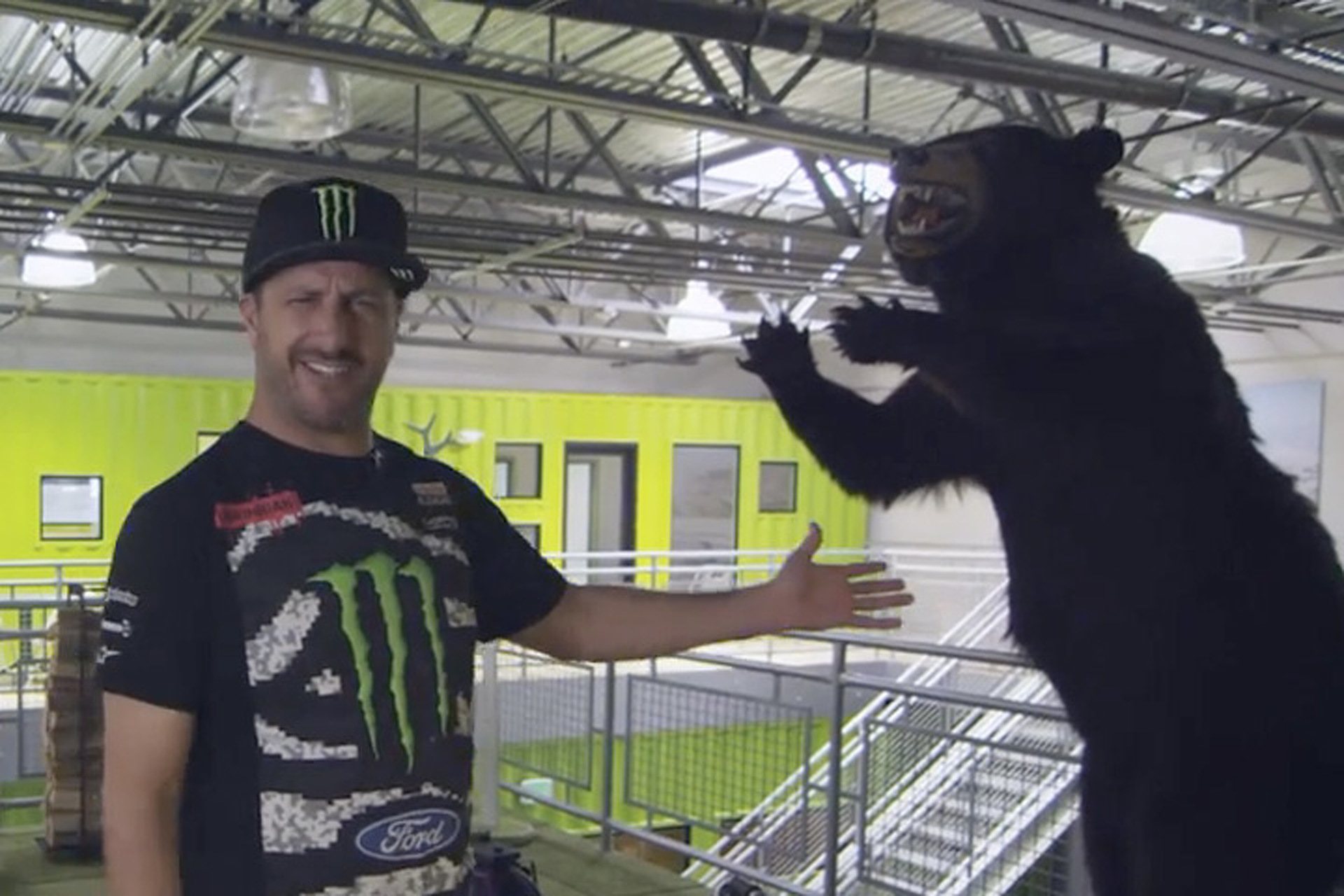 Take a Look Inside Ken Block's Hoonigan HQ [Video]