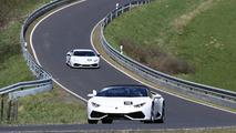 2017 Lamborghini Huracan Superleggera spy photo
