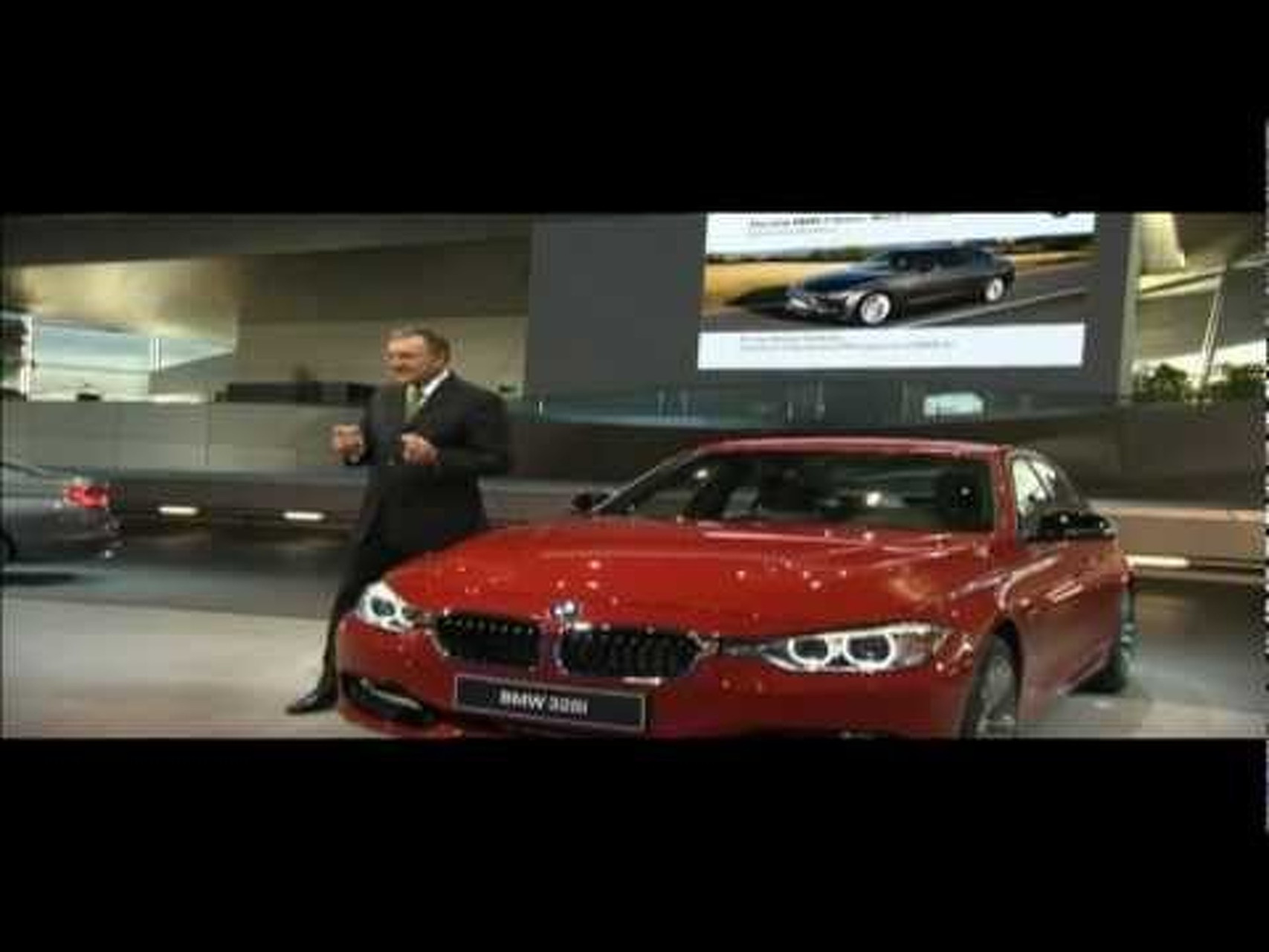 2012 BMW 3-Series World Premiere - Press Conference