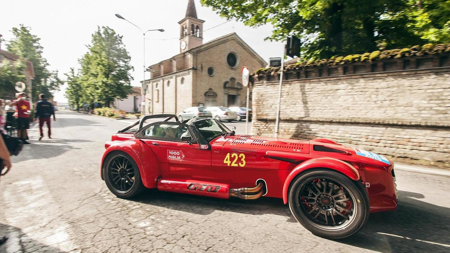 "Donkervoort introduces D8 GTO ""1000 Miglia Edition"""