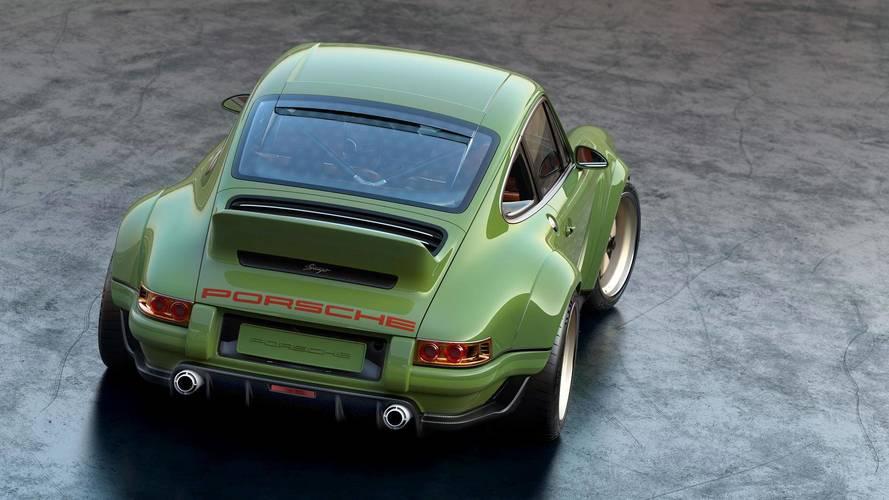 500 lóerős Williams motor került a Singer által restaurált első 911-be