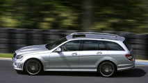 Mercedes C-Class Estate and C 63 AMG Test Drive (UK)