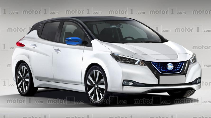 Nissan Leaf 2018: un recreación muy real