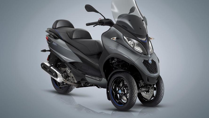 Piaggio presenta sus nuevos scooter MP3
