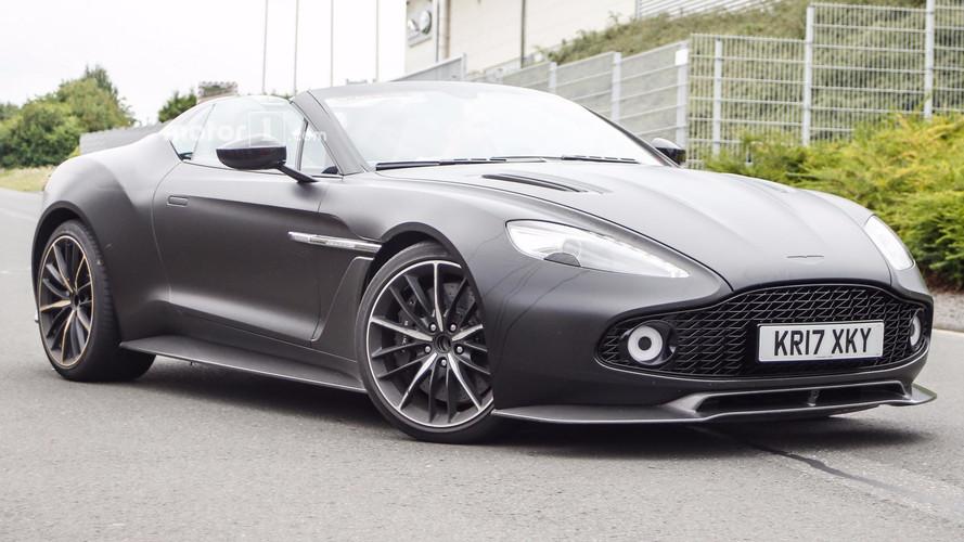 Aston Martin Vanquish Zagato Speedster kamuflajsız!