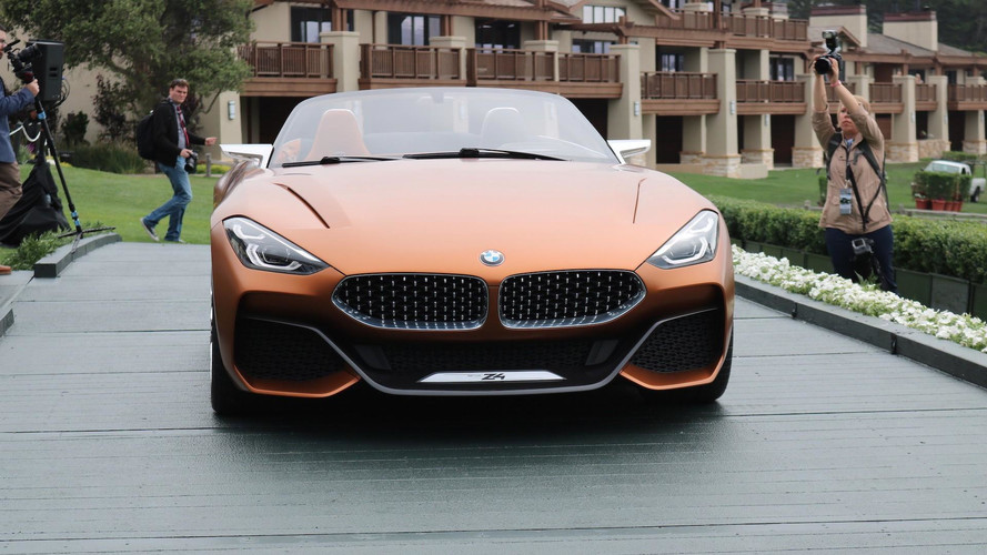 2018 bmw z4 concept. perfect 2018 bmw z4 concept pebble beach concours with 2018 bmw z4 concept u