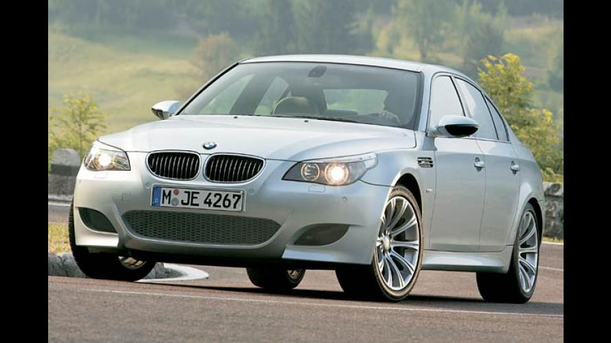 Neuer BMW M5 kommt mit bulligem V10 und 507 PS