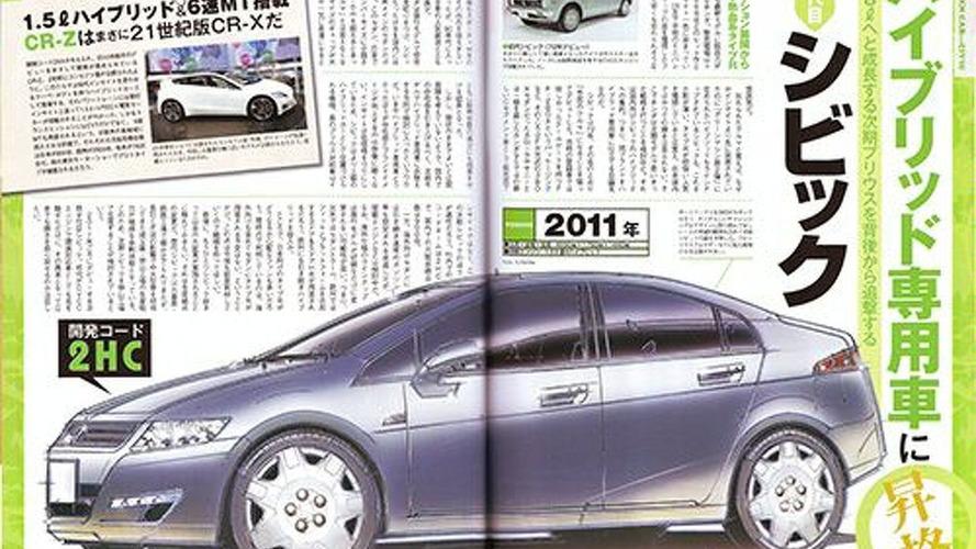 2012 Honda Civic Speculation Begins