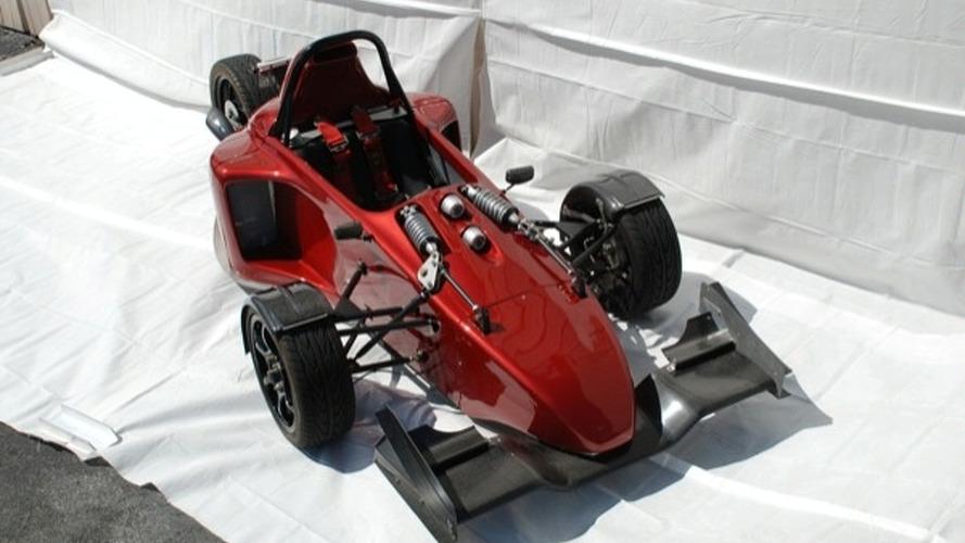 Scorpion Prodigy 3-Wheeler Packs Hayabusa Engine