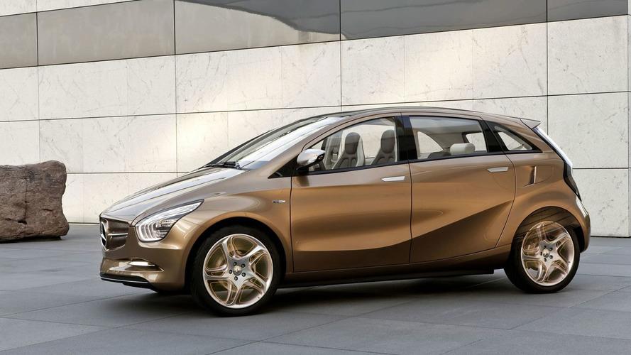 Mercedes Pre-Production BlueZERO E-CELL PLUS Electric Car Concept Revealed