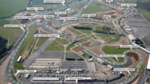 New Silverstone Grand Prix Circuit with corner names, 500, 29.04.2010