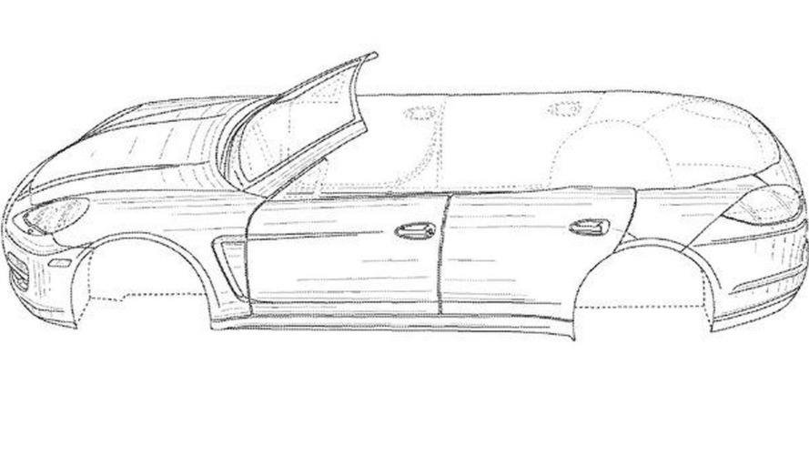 Porsche Panamera Convertible Alleged Patent Images Leaked