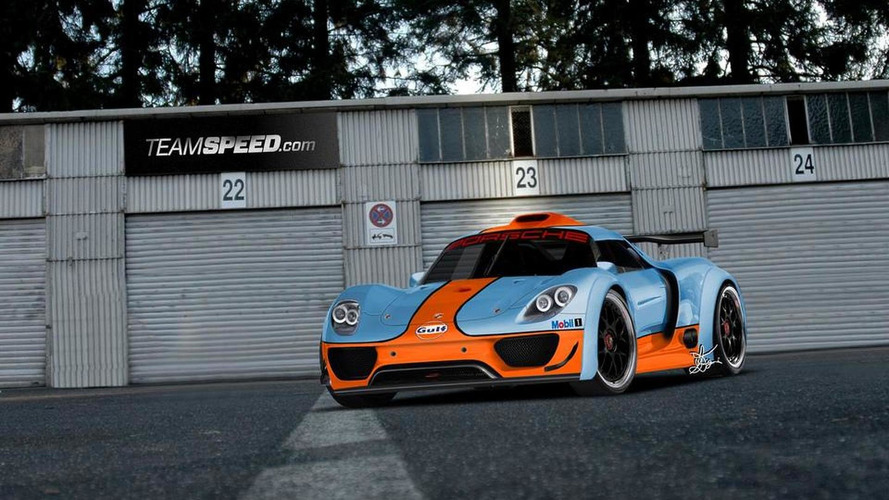 New info: Porsche 918 Coupe racing prototype to debut in Detroit - report