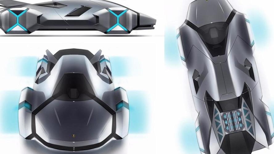 Lamborghini Cnossus student design concept [Video]