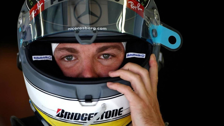 Rosberg 'completely happy' with Mercedes - spokesman