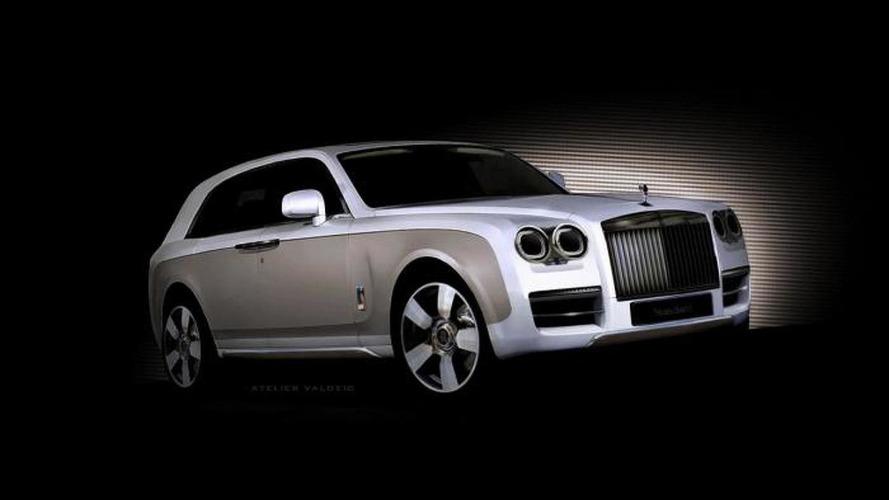 Rolls-Royce crossover concept digitally imagined