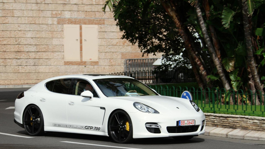 Gemballa bringing 700 HP Porsche Panamera Turbo to Essen