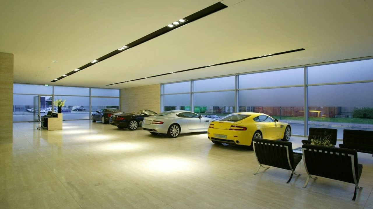 Aston Martin Dealership in Frankfurt