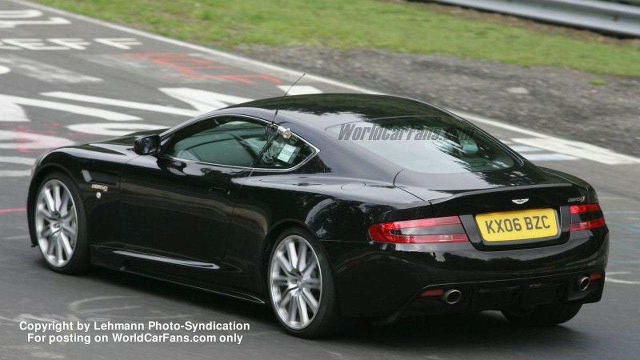 Aston Martin DBRS9 Spy Photo