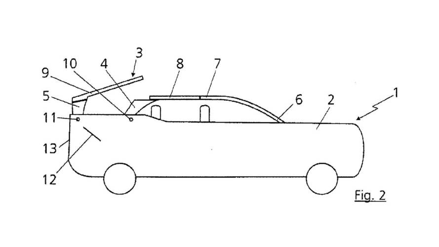 Audi Convertible SUV Patent Images