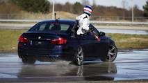 BMW M5 drift record